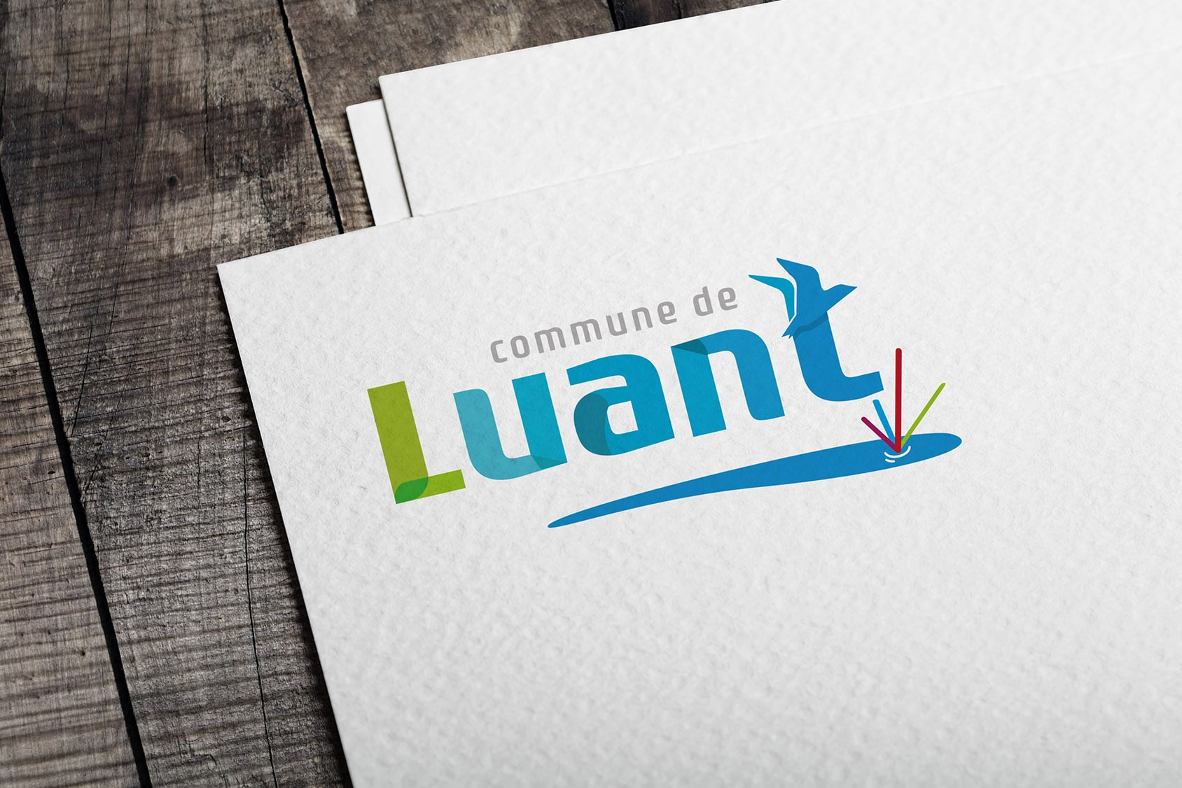 Logo Ville de Luant