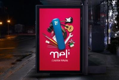 Affiche abris bus MELI