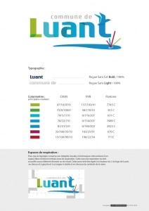 Charte logo Luant 2017