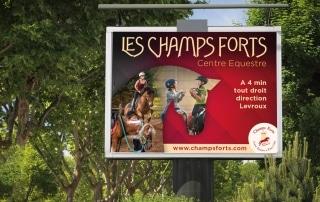 Affiche 4x3 - Les Champs Forts