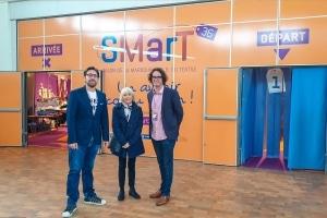 Porte adhésif Salon SMarT36 - Identité graphique