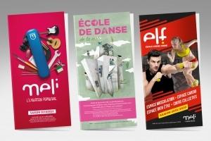 Dépliants MELI - DANSE _ ELF