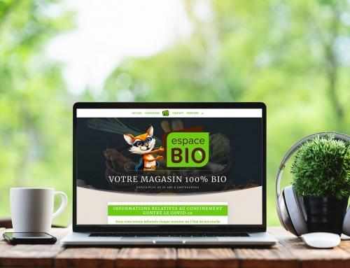 Site Internet – Espace Bio