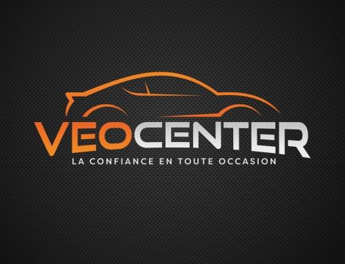 Logo et habillage graphique Veocenter