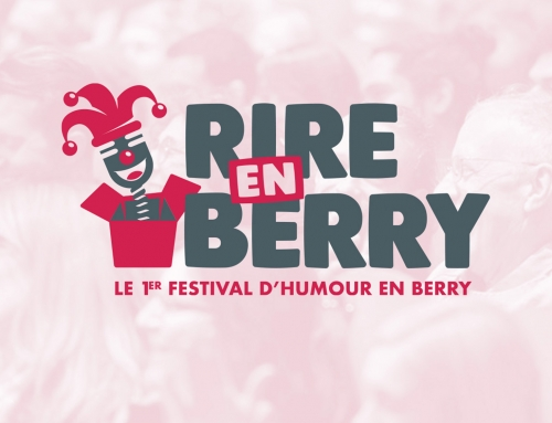 Logo & affiche Rire en Berry